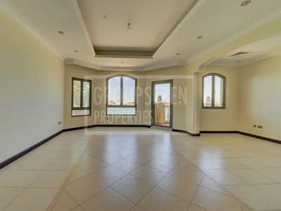 فیلا 4 غرفة نوم للايجار في نخلة جميرا، دبي - Well maintained 4BR Villa for Rent stunning sea view