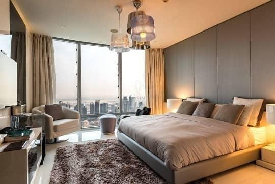 2 4 Bedrooms +Maid's Room Penthouse Burj Khalifa