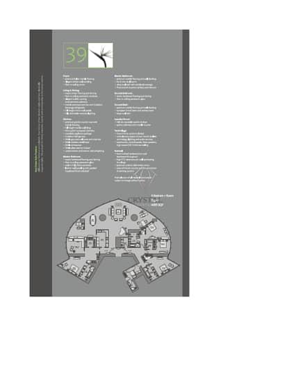 10 4 Bedrooms +Maid's Room Penthouse Burj Khalifa