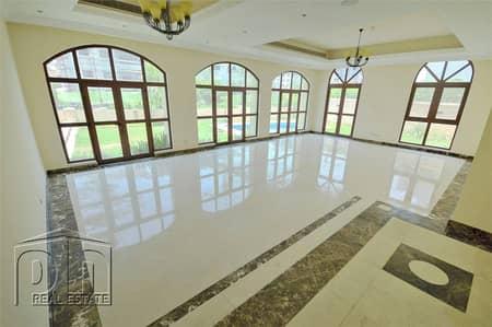فیلا 6 غرفة نوم للبيع في عقارات جميرا للجولف، دبي - Huge Luxury Golf Villa - Available Immediately