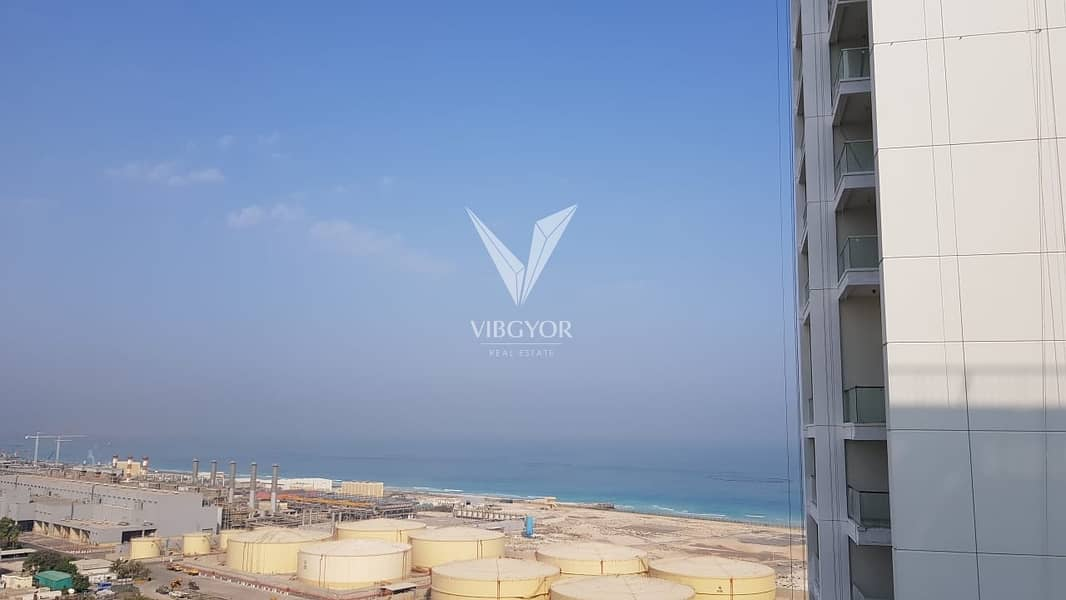 Vacant 2 Bed+Maid| Sea View| DEC Tower| High Floor