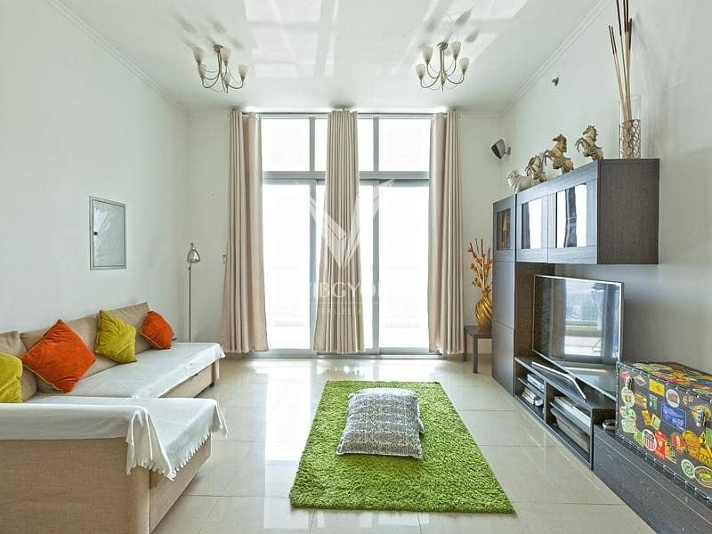 2 Vacant 2 Bed+Maid| Sea View| DEC Tower| High Floor
