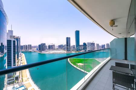 Vacant! High Floor w/FULL Glass Balcony Canal View