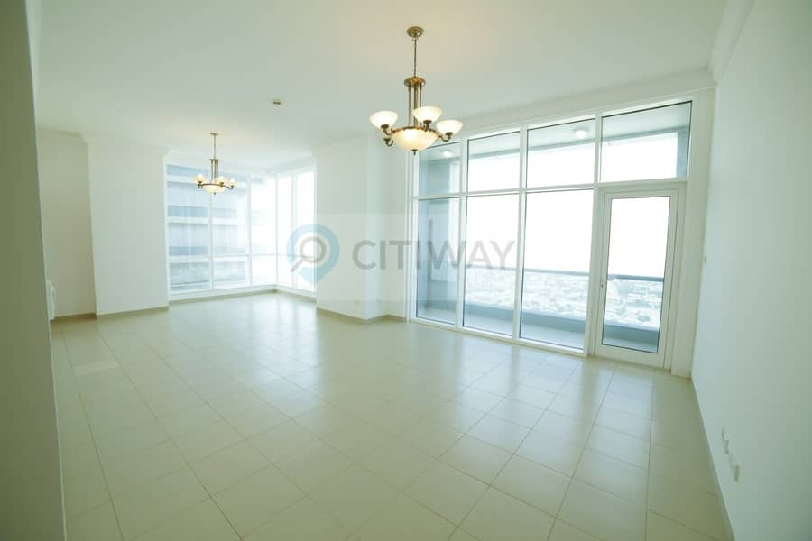 2 Spacious Apartment for 6 Cheques and 1 month Free!