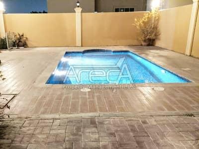 فیلا 5 غرفة نوم للايجار في مدينة خليفة A، أبوظبي - 5 Bedroom With private pool and two entrance