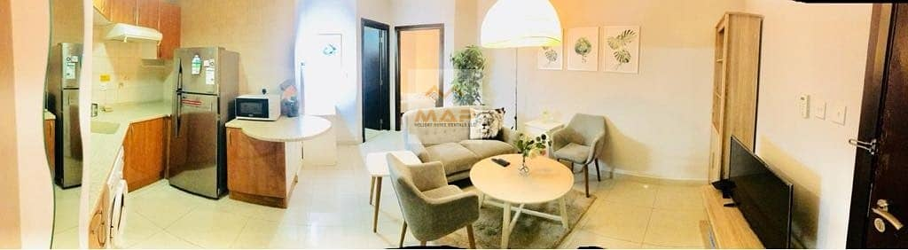 8 Limited offer STUDIO newly furnished near to 5 min DMCC Metro station JLT