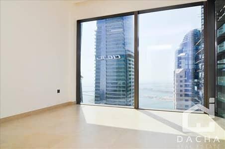 شقة 2 غرفة نوم للايجار في دبي مارينا، دبي - HIGH floor 2 Ensuite bathrooms Unfurnished Chiller free