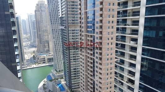 فلیٹ 2 غرفة نوم للايجار في دبي مارينا، دبي - High Floor I 2BR I Well Kept I Lake View