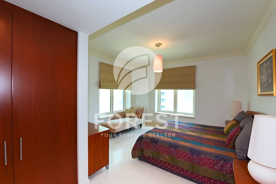 12 Mid Floor | Fully Furnished |Partial Marina | 3BR