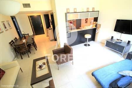 شقة 1 غرفة نوم للبيع في دبي مارينا، دبي - Large size unit | Community view | Vacant | 1BR