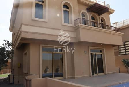 فیلا 4 غرفة نوم للايجار في حدائق الجولف في الراحة، أبوظبي - 4bed Villa With Pvt Pool Available For Rent