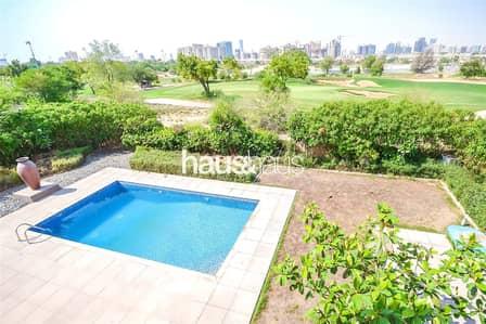 5 Bedroom Villa for Sale in Jumeirah Golf Estate, Dubai - 5 BR | Country Down | Close to Club House