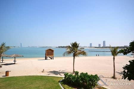 شقة 1 غرفة نوم للايجار في نخلة جميرا، دبي - 1 Bed l J Type l 750 sqft l Unfurnished
