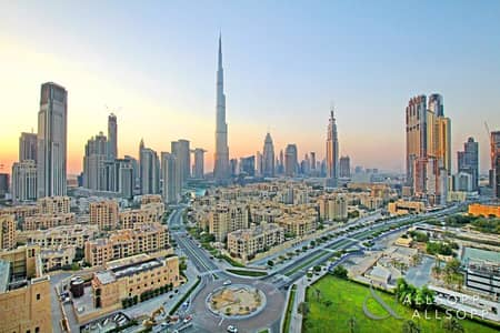 2 Bedroom Flat for Sale in Downtown Dubai, Dubai - Burj Khalifa View | Two Bed | High Floor