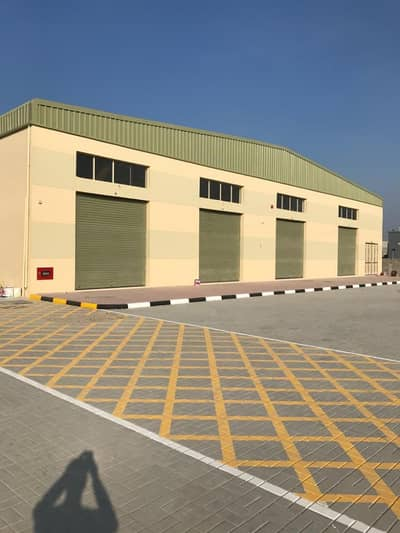 Warehouse for Rent in Al Jurf, Ajman - brand new warehouse with electrcity load 24KV