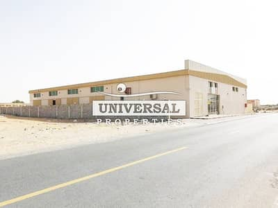 20,000 Sqft. Brand New 11 WARE HOUSES For Sale with 12% income in Al Jurf Area Ajman UAE