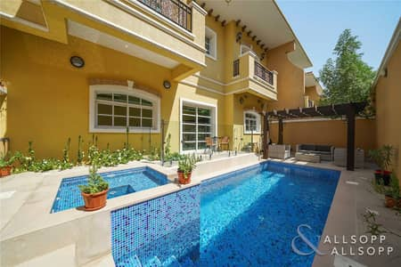 3 Bedroom Townhouse for Sale in Dubai Sports City, Dubai - 3 Bed Plus Maids | Private Pool | Vacant