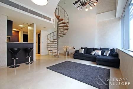 فلیٹ 1 غرفة نوم للبيع في مركز دبي المالي العالمي، دبي - Rare One Bedroom | Duplex | DIFC View