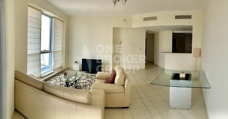 High floor | Furnished 2 Bedroom | Chiller free