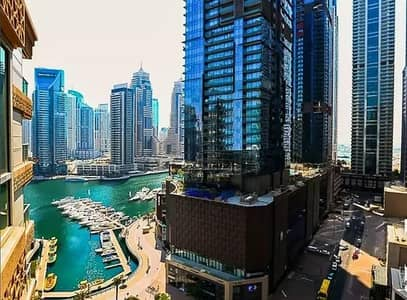 2 Bedroom Flat for Rent in Dubai Marina, Dubai - Spacious 2 beds |large Balcony for rent in Al mass tower