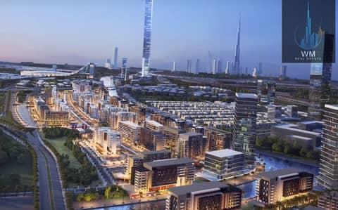 محل تجاري  للبيع في ميدان، دبي - Affordable Shops for Installments on Dubai Canal behind Dubai Mall