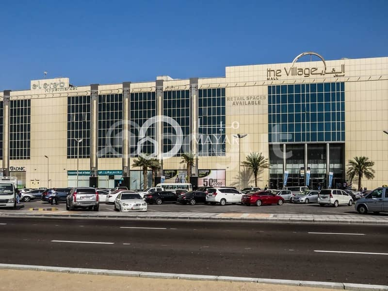 Commercial Shops Available in Mussafah Shopping Mall - No Agency Fees