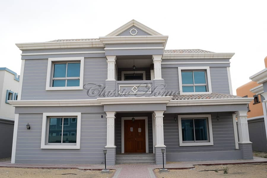 Vacant 5 B/R Maid + Driver Room - Detached - New World Style Villa