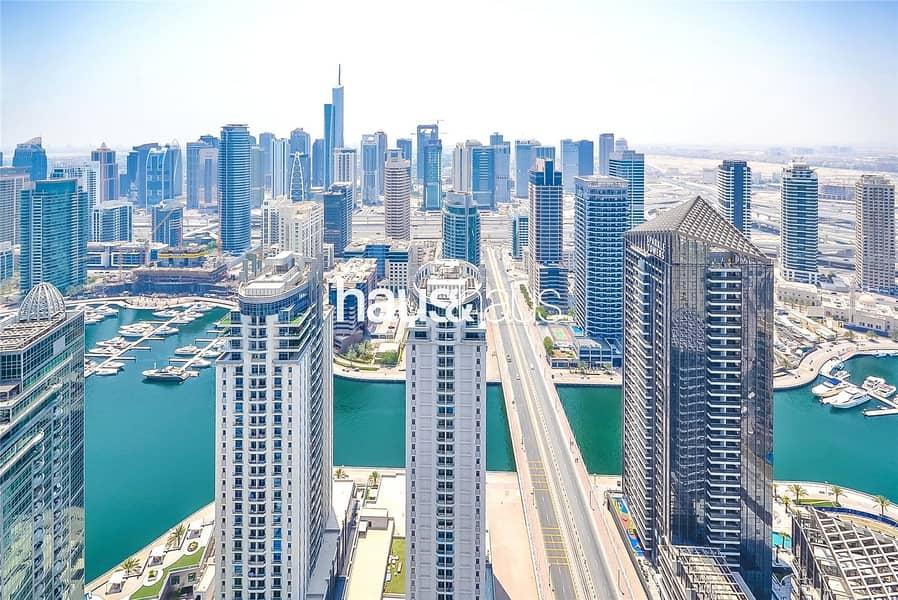 High floor | Marina views | Unfurnished