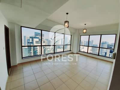2 Bedroom Apartment for Rent in Jumeirah Beach Residence (JBR), Dubai - Bright and Spacious 2BR | High Floor | Great View
