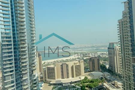 شقة 1 غرفة نوم للايجار في دبي مارينا، دبي - 1BR Park Island Blakely   Sea View   High Floor