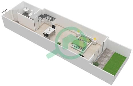 المخططات الطابقية لتصميم النموذج PREMIER شقة  - ليفينغ ليجيندز