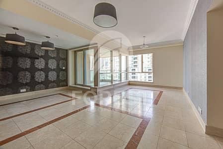 شقة 2 غرفة نوم للايجار في دبي مارينا، دبي - High Floor| Marina and Golf  Views |2BR plus study