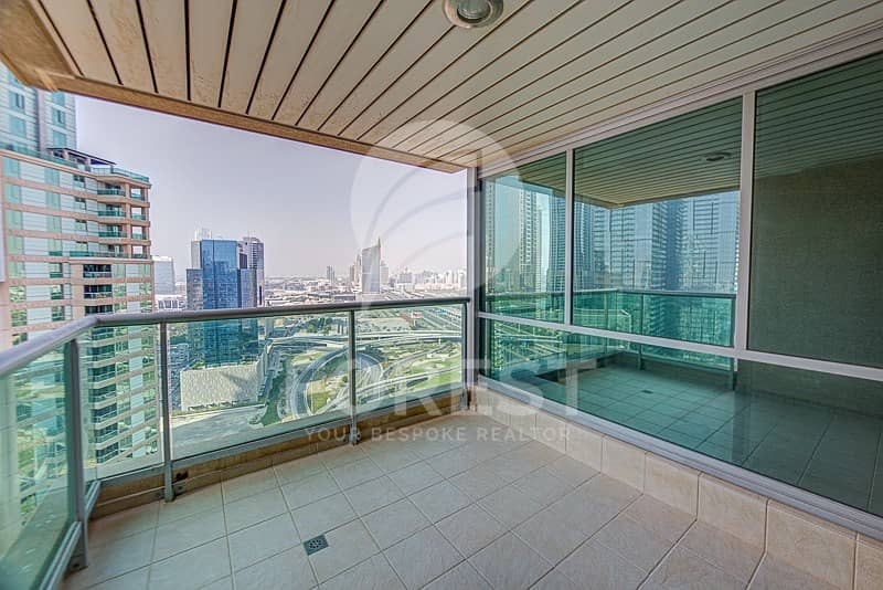 2 High Floor| Marina and Golf  Views |2BR plus study