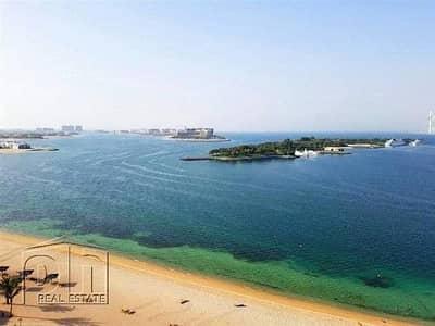 شقة 2 غرفة نوم للايجار في نخلة جميرا، دبي - Beach Access / Fully Furnished / F Type / Low Floor