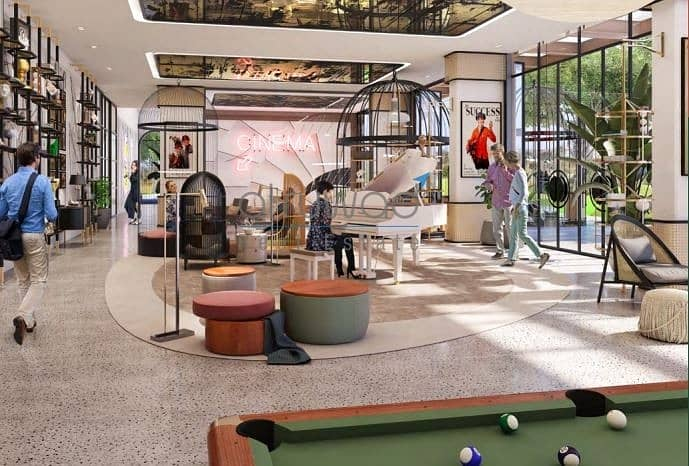 1BR ap in Golfville Dubai Hills Estate/Golf views/No comission