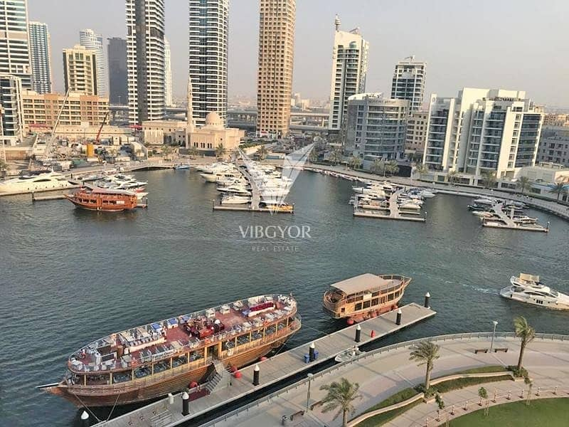 Full Marina View| 3 Bed+Maid| Jewels