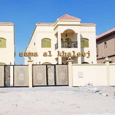 فیلا 5 غرفة نوم للبيع في الزهراء، عجمان - فيلا بناء شخصي جديد للبيع بالقرب من طريق الشيخ عمار