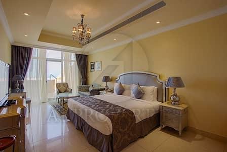 بنتهاوس 4 غرفة نوم للبيع في نخلة جميرا، دبي - Fully Furnished 4BR Penthouse