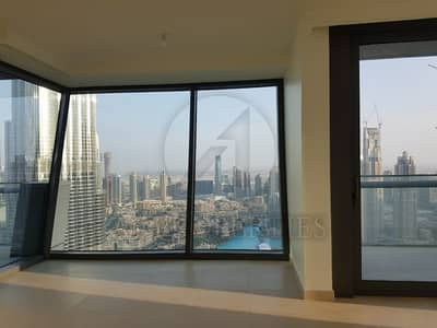 3BR and Maid with Burj and Fountain View