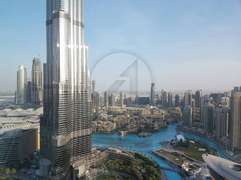 2 3BR and Maid with Burj and Fountain View