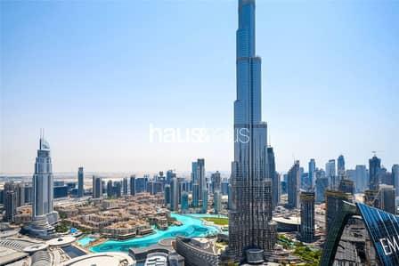 فلیٹ 2 غرفة نوم للايجار في وسط مدينة دبي، دبي - High Floor| Burj Khalifa View| Best Layout| Vacant