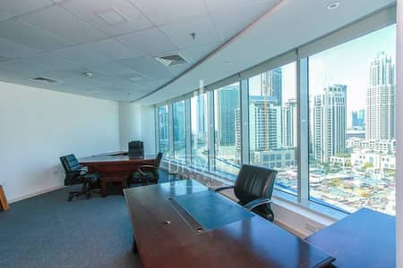 VACANT FULLY FURNISHED HUGE OFFICE SPACE