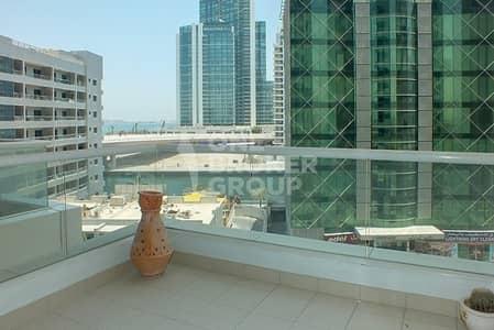 2 Bedroom Flat for Rent in Dubai Marina, Dubai - Huge 2+m, partial Marina view, unf. 83k