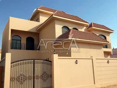 فيلا تجارية 7 غرفة نوم للايجار في مدينة خليفة A، أبوظبي - A Glorious Brand new 7 BR Villa in Khalifa City A with Private pool.