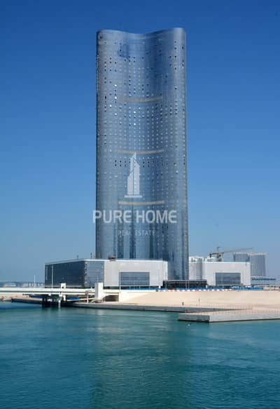 2 Bedroom Flat for Rent in Al Reem Island, Abu Dhabi - Luxurious 2 Bedroom + Maid room !  Pay in 4 Cheques