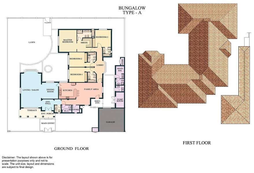 10 Four Bedroom Bungalow | Landscaped Garden