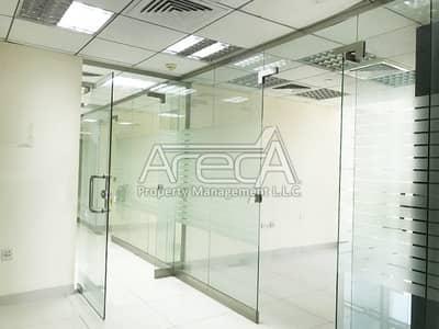 مکتب  للايجار في الخالدية، أبوظبي - Superb fully fitted office space for Rent! Al Khalidiya Area