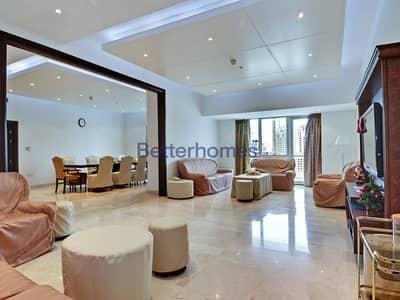 3 Bedroom Apartment for Sale in Dubai Marina, Dubai - High Floor | Maids | Rented| Marina View