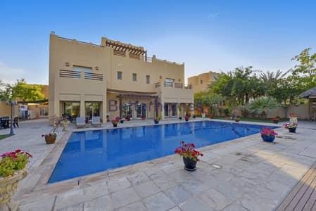 فیلا 6 غرفة نوم للايجار في البحيرات، دبي - Upgraded | Golf Course View | Private Pool