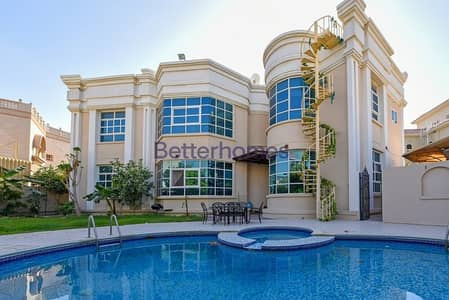7 Bedroom Villa for Sale in Al Barsha, Dubai - Beautiful villa  Exotic garden Near coop  pool 